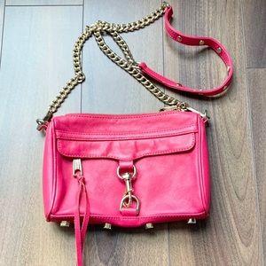 Rebecca Minkoff M.A.C crossbody bag in hot pink